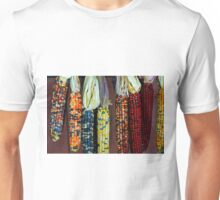 Colorful Indian Corn Unisex T-Shirt