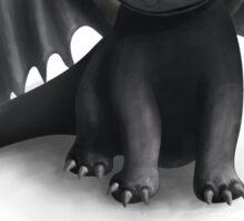 Toothless, Night Fury Inspired Dragon. Sticker