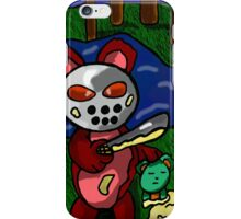 TEDDY THE 13th  iPhone Case/Skin