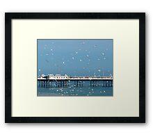Palace Pier, Brighton, England Framed Print
