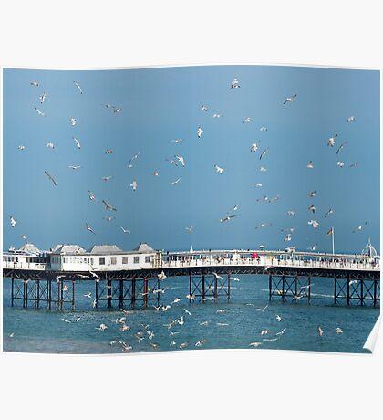 Palace Pier, Brighton, England Poster