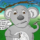 Cool Koala and the Euro crisis - binary options news cartoon by Binary-Options