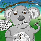 Cool Koala and the Euro crisis - binary options news cartoon by Binary-Options