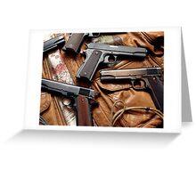 1911 Colt .45 art Greeting Card