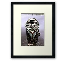 Messing on the Water Framed Print