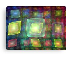 Cube Central Canvas Print