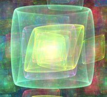 Cube Central Sticker