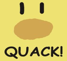 quack quack quack One Piece - Short Sleeve