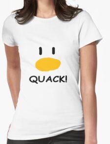 quack quack quack Womens Fitted T-Shirt