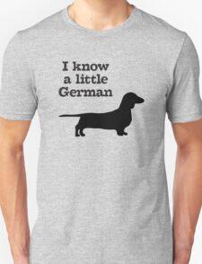 I Know A Little German Dachshund T-Shirt