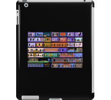 Maniac Mansion rooms iPad Case/Skin