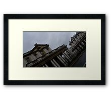 Historic Architecture standing in London Framed Print
