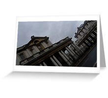 Historic Architecture standing in London Greeting Card