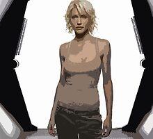 Tricia Helfer, Battlestar Galactica's Number 6 by sandnotoil