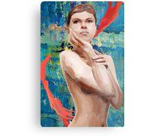 Looking Ahead Semi - Nude Metal Print