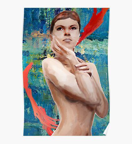 Looking Ahead Semi - Nude Poster