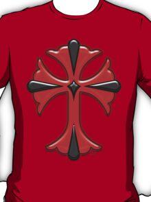 Victorian Design Red Cross T-Shirt