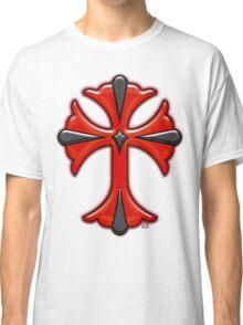 Victorian Design Red Cross Classic T-Shirt