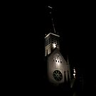Church at night, Singapore by Tamara Travers