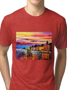 Lake Como - Bellagio Tri-blend T-Shirt