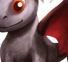 Ash Stone Dragon.  Sticker