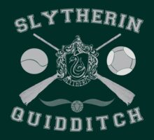 Slytherin Quidditch (Silver) by Lumos ϟ Nox