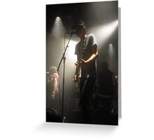 We are the in crowd, concert photo. Greeting Card