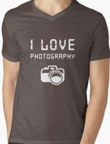 I love Photography Mens V-Neck T-Shirt