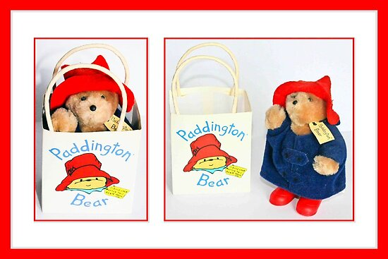 Paddington Takes a Trip by missmoneypenny