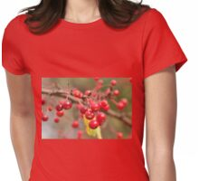 Bitter Cherries  Womens Fitted T-Shirt