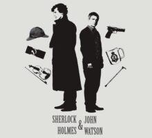 Sherlock Holmes & John Watson by NightDragon74