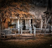 White house, Buffalo Gap TX by dlosey