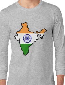 India Long Sleeve T-Shirt