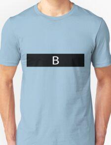 Alphabet Collection - Bravo Black T-Shirt