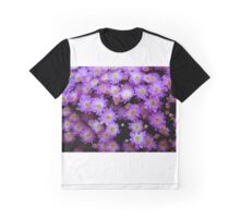 Purple Mums  ^ Graphic T-Shirt