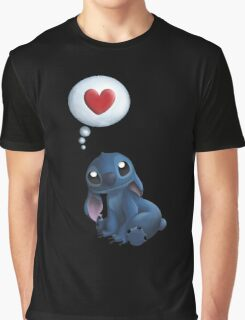 Stitch Loves You. Graphic T-Shirt
