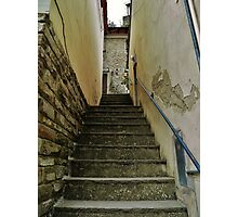 The Steps Photographic Print