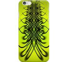 Lime Lines iPhone Case/Skin