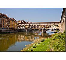 Florence / Ponte Vecchio - Gold Bridge Photographic Print