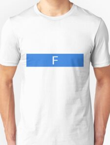 Alphabet Collection - Foxtrot Blue T-Shirt