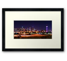 City Of The Plains Framed Print