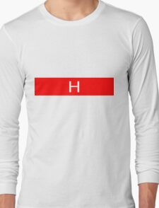 Alphabet Collection - Hotel Red Long Sleeve T-Shirt