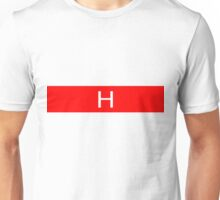 Alphabet Collection - Hotel Red Unisex T-Shirt