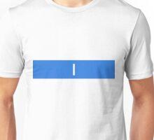 Alphabet Collection - India Blue Unisex T-Shirt
