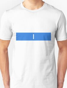 Alphabet Collection - India Blue T-Shirt