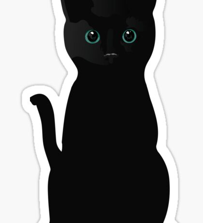 Kitten Eyes Sticker