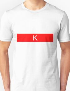 Alphabet Collection - Kilo Red T-Shirt