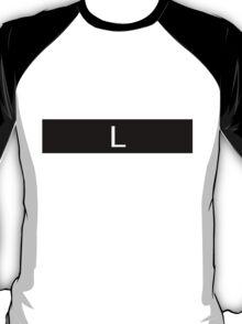 Alphabet Collection - Lima Black T-Shirt