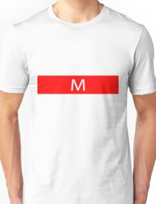 Alphabet Collection - Mike Red Unisex T-Shirt