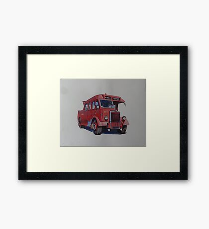 Leyland breakdown Ribble. Framed Print